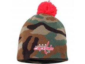 Kulich Washington Capitals Reebok Camo Cuffless Knit Beanie With Pom