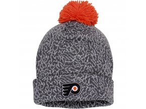 Kulich Philadelphia Flyers Mitchell & Ness Vintage Crack Pattern Knit Hat