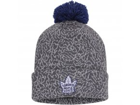 Kulich Toronto Maple Leafs Mitchell & Ness Vintage Crack Pattern Knit Hat