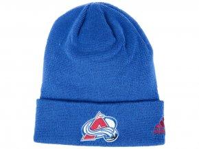 Zimní čepice Colorado Avalanche adidas NHL Basic Cuff Knit