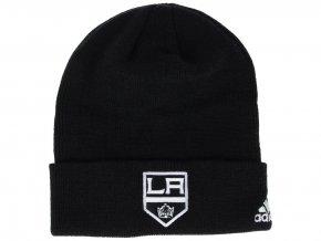 Zimní čepice Los Angeles Kings adidas NHL Basic Cuff Knit
