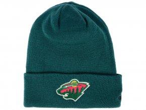 Zimní čepice Minnesota Wild adidas NHL Basic Cuff Knit