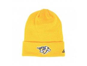 Zimní čepice Nashville Predators adidas NHL Basic Cuff Knit