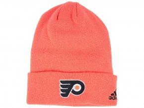 Zimní čepice Philadelphia Flyers adidas NHL Basic Cuff Knit ORG