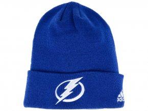Zimní čepice Tampa Bay Lightning adidas NHL Basic Cuff Knit