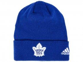 Zimní čepice Toronto Maple Leafs adidas NHL Basic Cuff Knit