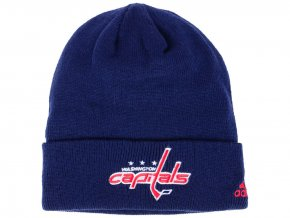 Zimní čepice Washington Capitals adidas NHL Basic Cuff Knit