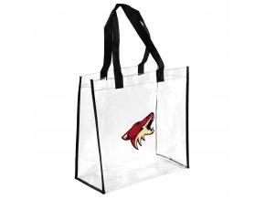 Taška Arizona Coyotes Clear Reusable Bag