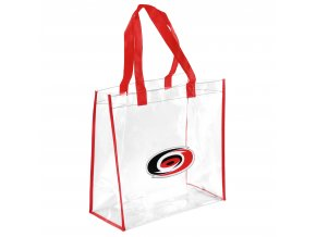 Taška Carolina Hurricanes Clear Reusable Bag