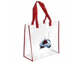 Taška Colorado Avalanche Clear Reusable Bag