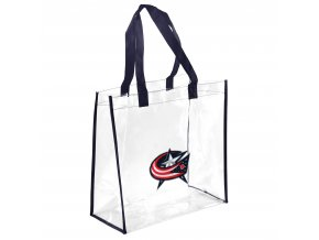 Taška Columbus Blue Jackets Clear Reusable Bag