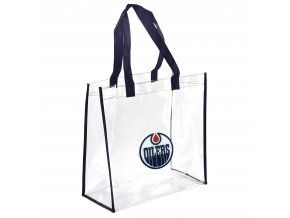 Taška Edmonton Oilers Clear Reusable Bag