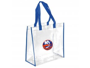 Taška New York Islanders Clear Reusable Bag