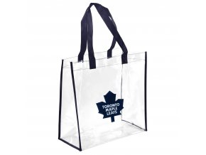 Taška Toronto Maple Leafs Clear Reusable Bag