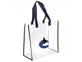 Taška Vancouver Canucks Clear Reusable Bag