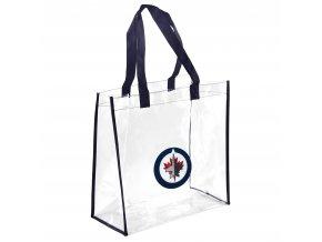 Taška Winnipeg Jets Clear Reusable Bag