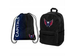 Set Batoh a vak Washington Capitals Combo Pack