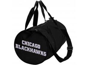 Sportovní taška Chicago Blackhawks Roar Duffel Bag