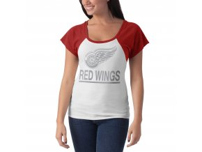 Dámské tričko Detroit Red Wings Big Time Slim Fit Raglan T-Shirt