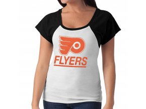 Dámské tričko Philadelphia Flyers Big Time Slim Fit Raglan T-Shirt