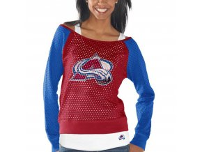 Set dámských triček Colorado Avalanche Holey Long Sleeve Top and Tank Top II Set