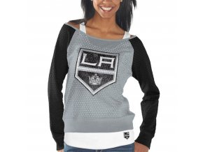 Set dámských triček Los Angeles Kings Holey Long Sleeve Top and Tank Top II Set