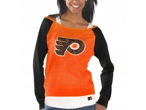 Set dámských triček Philadelphia Flyers Holey Long Sleeve Top and Tank Top II Set