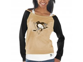 Set dámských triček Pittsburgh Penguins Holey Long Sleeve Top and Tank Top II Set