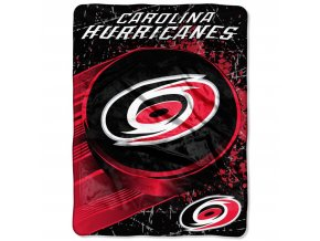 Deka Carolina Hurricanes Plush Micro Throw