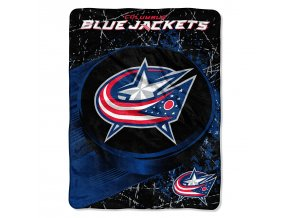 Deka Columbus Blue Jackets Plush Micro Throw