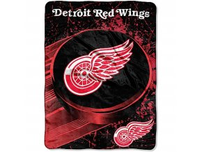Deka Detroit Red Wings Plush Micro Throw