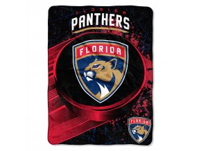 Deka Florida Panthers Plush Micro Throw