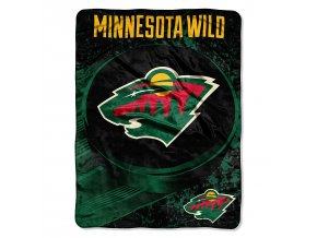 Deka Minnesota Wild Plush Micro Throw