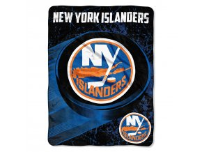 Deka New York Islanders Plush Micro Throw