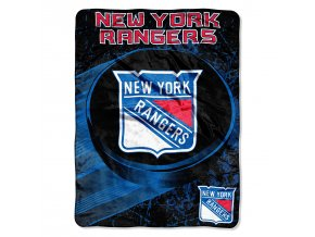 Deka New York Rangers Plush Micro Throw