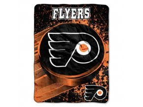 Deka Philadelphia Flyers Plush Micro Throw