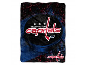 Deka Washington Capitals Plush Micro Throw