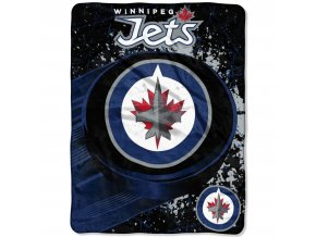 Deka Winnipeg Jets Plush Micro Throw