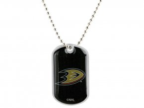 Přívěšek Anaheim Ducks Dog Tag