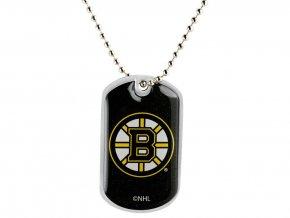 Přívěšek Boston Bruins Dog Tag