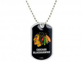 Přívěšek Chicago Blackhawks Dog Tag