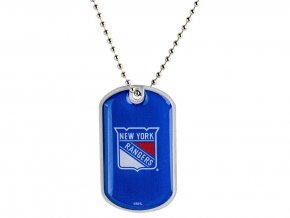 Přívěšek New York Rangers Dog Tag