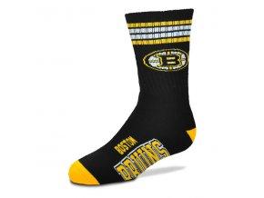 Dětské ponožky Boston Bruins 4-Stripe Deuce Quarter-Length