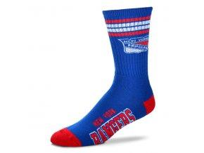 Dětské ponožky New York Rangers 4-Stripe Deuce Quarter-Length