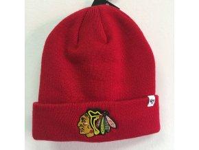 Zimní Čepice Chicago Blackhawks 47 Cuffed Knit Beanie