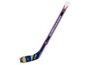 Plastiková minihokejka Columbus Blue Jackets NHL Mascot