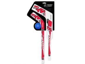 Plastiková minihokejka New Jersey Devils Breakaway pack