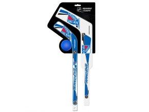Plastiková minihokejka New York Rangers Breakaway pack