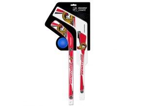 Plastiková minihokejka Ottawa Senators Breakaway pack
