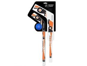 Plastiková minihokejka Philadelphia Flyers Breakaway pack
